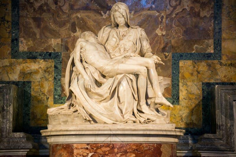 bazylika la Petera święty pieta Watykanu obrazy stock