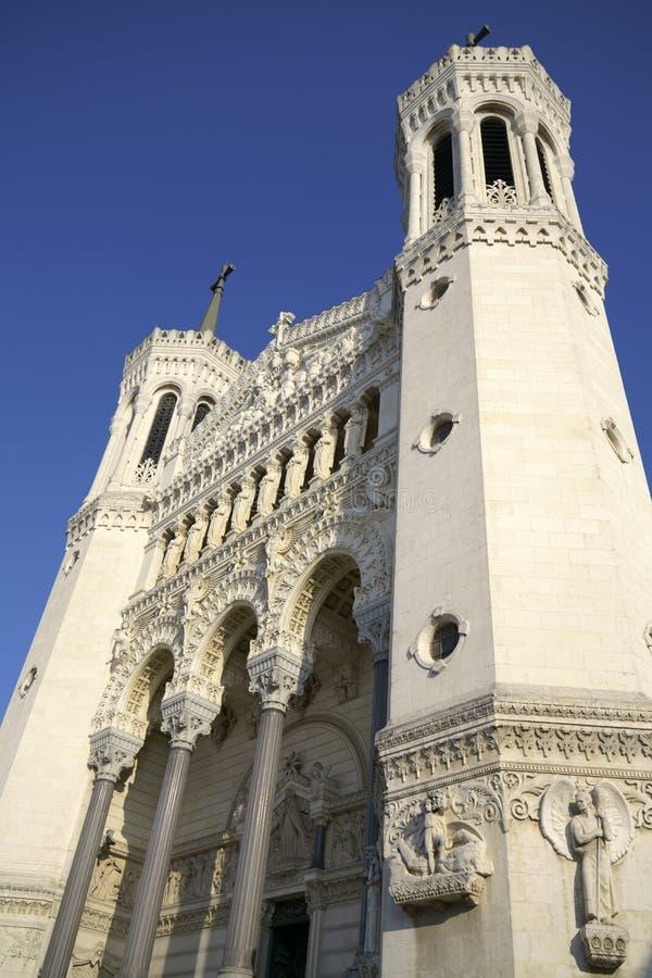 Bazylika Notre-Dame De Fourviere, Lion zdjęcia royalty free