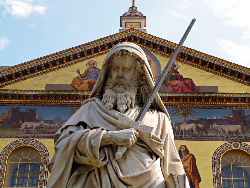 bazylika poza murami świętej romów, Paul obrazy royalty free