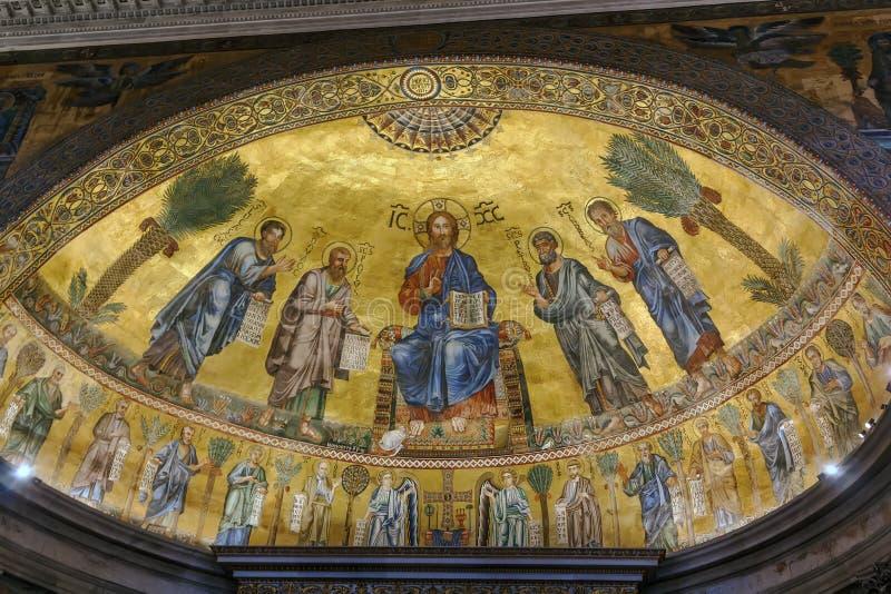 Bazylika Saint Paul, Rzym obrazy stock