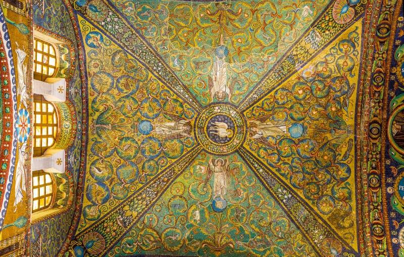 Bazylika San Vitale w Ravenna, emilia Włochy zdjęcie royalty free