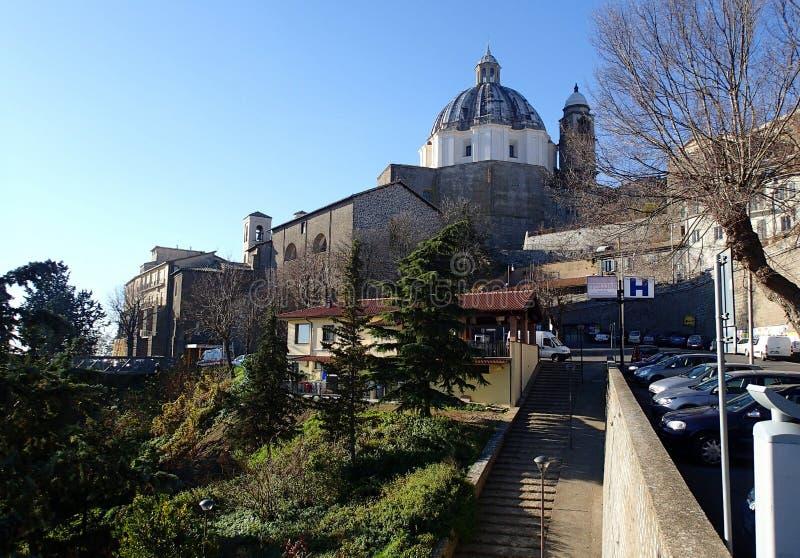 Bazylika Santa Margherita, Montefiascone katedra, Włochy zdjęcia royalty free