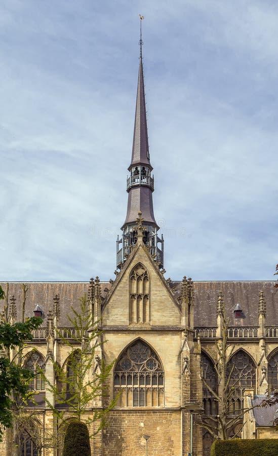 Bazylika St Bartholomew, Meerssen obraz stock