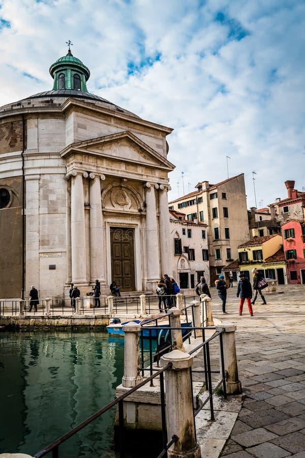 Bazylika, Wenecja, Włochy obrazy royalty free