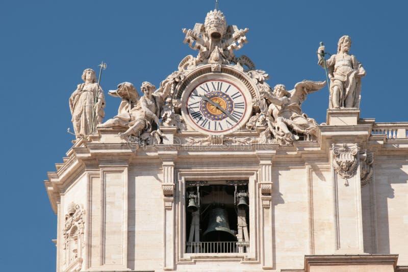 Download Bazyliki Campanone Peter St Zdjęcie Stock - Obraz złożonej z kolumna, kościół: 13328834