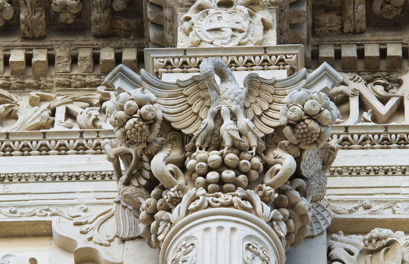 bazyliki croce Italy lecce Puglia Santa zdjęcia royalty free