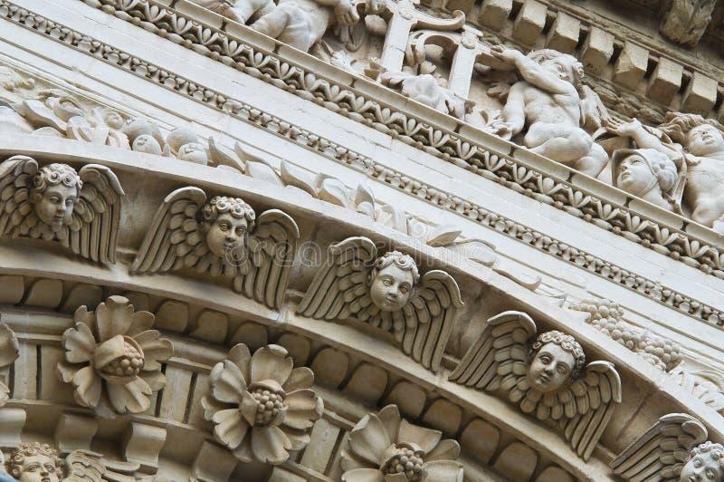 bazyliki croce Italy lecce Puglia Santa obraz stock