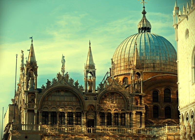 Bazyliki Di San Marco St Mark s katedra Wenecja fotografia stock
