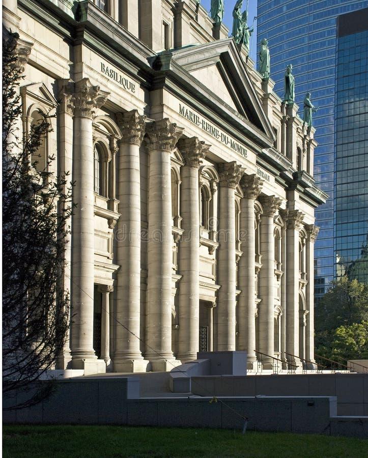 bazyliki Mary Montreal królowej świat zdjęcie stock