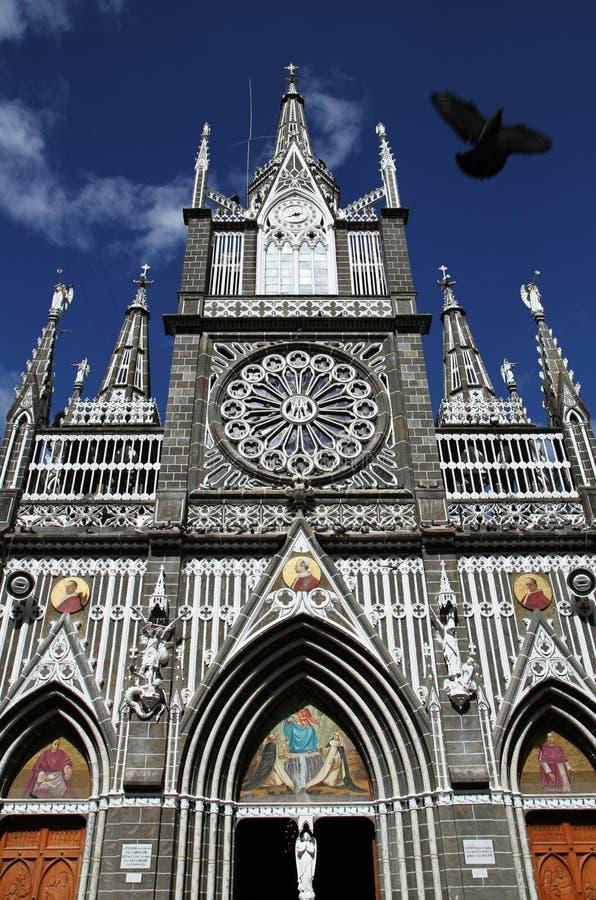 bazyliki ptaka kościół zdjęcia royalty free
