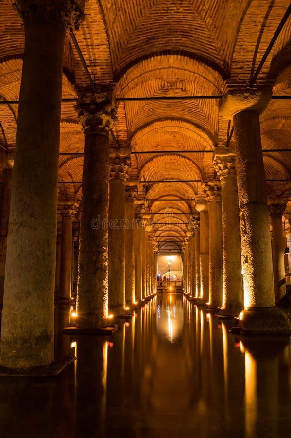 Bazyliki spłuczka w Instanbul zdjęcia royalty free