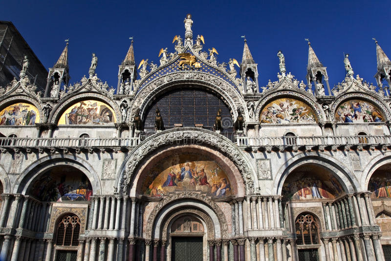 bazyliki szczegółów Italy oceny s święty Venice obrazy royalty free