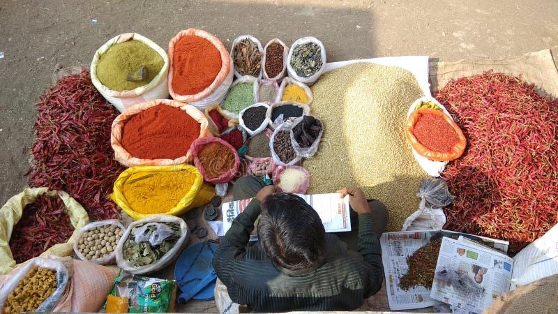 Bazzar - indianin zdjęcie royalty free