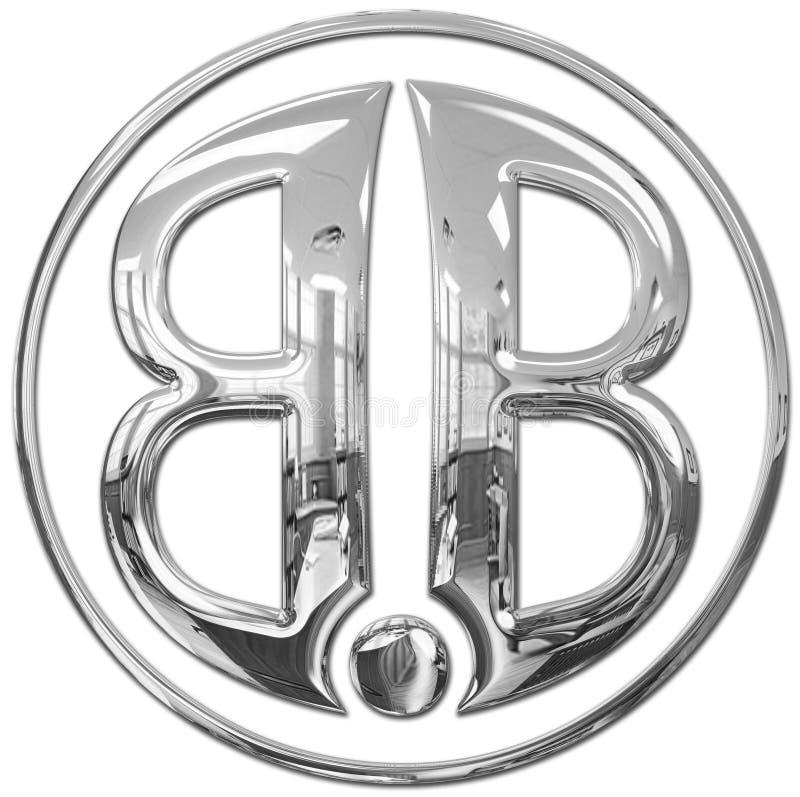 bb徽标 库存图片