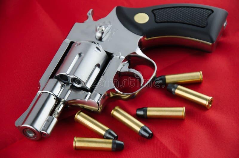 BB枪左轮手枪 免版税库存图片