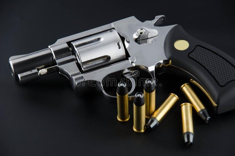 BB枪左轮手枪 库存照片