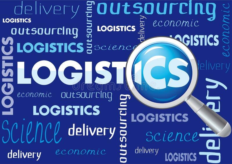 Bb de la logística stock de ilustración