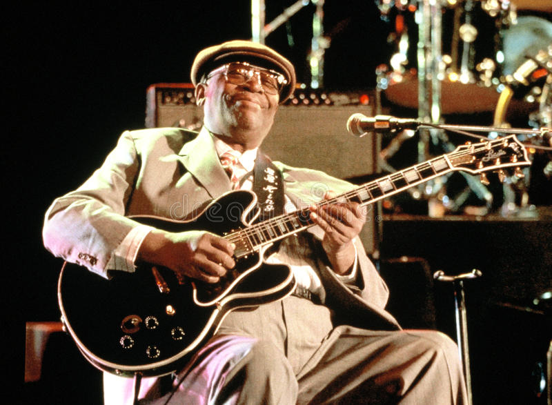 BB King Blues Legend stock image