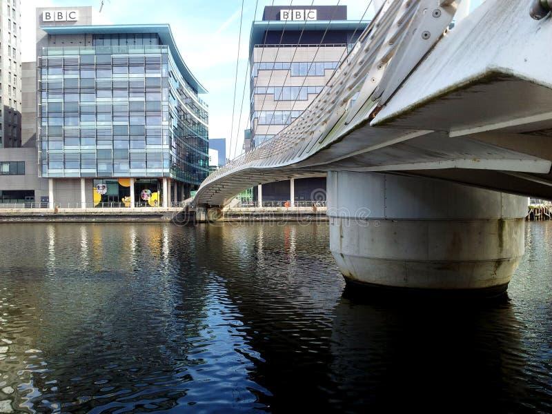 Город средств массовой информации BBC стоковое фото