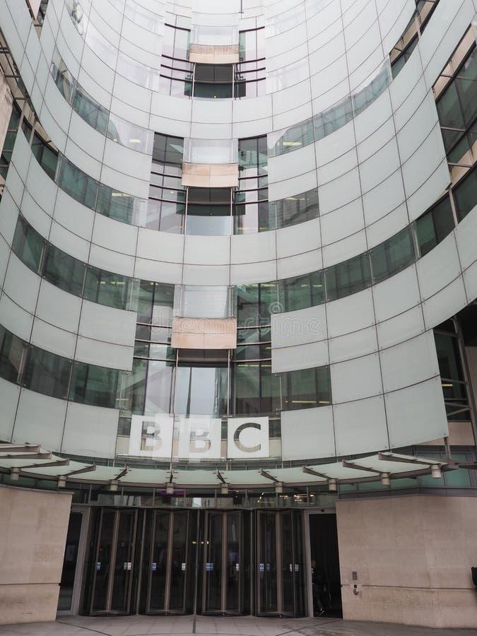 BBC Broadcasting House in Londen royalty-vrije stock afbeeldingen
