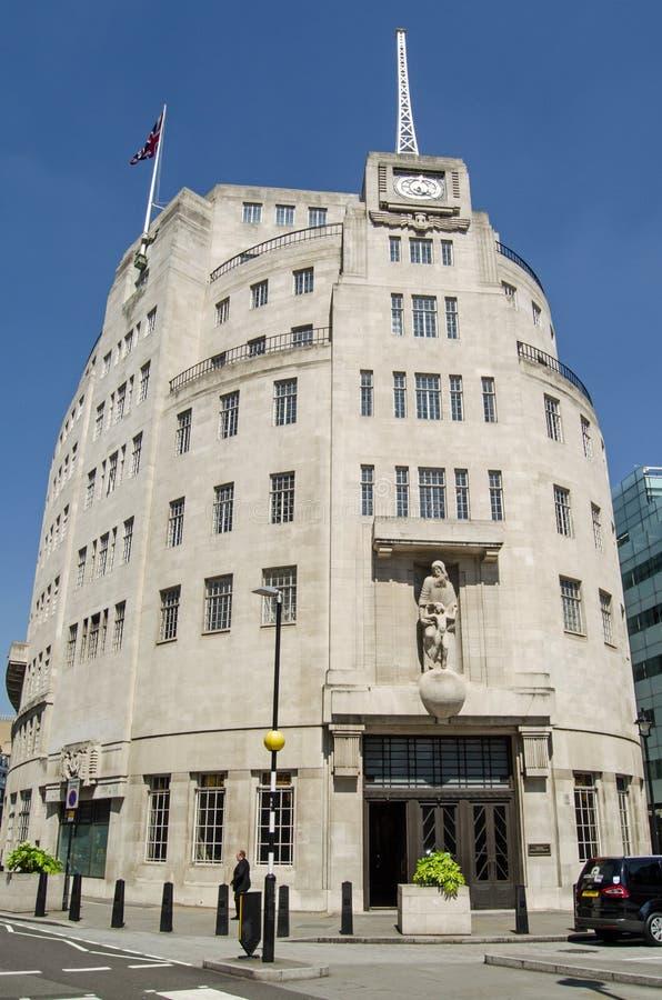BBC Broadcasting House Editorial Stock Photo