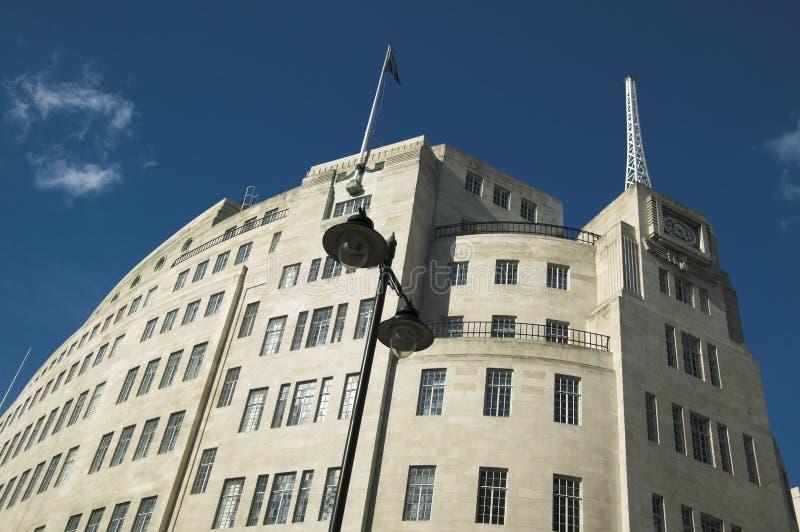 bbc nadawanie dom zdjęcia royalty free