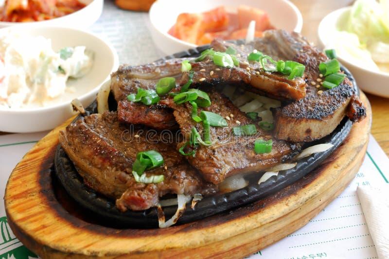 bbq Κορεάτης στοκ εικόνες