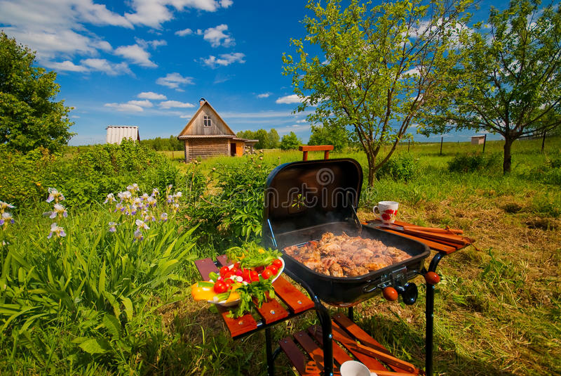 BBQ stock foto's
