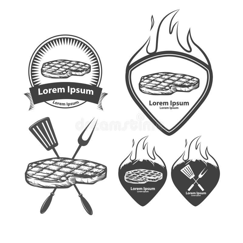 BBQ royalty ilustracja