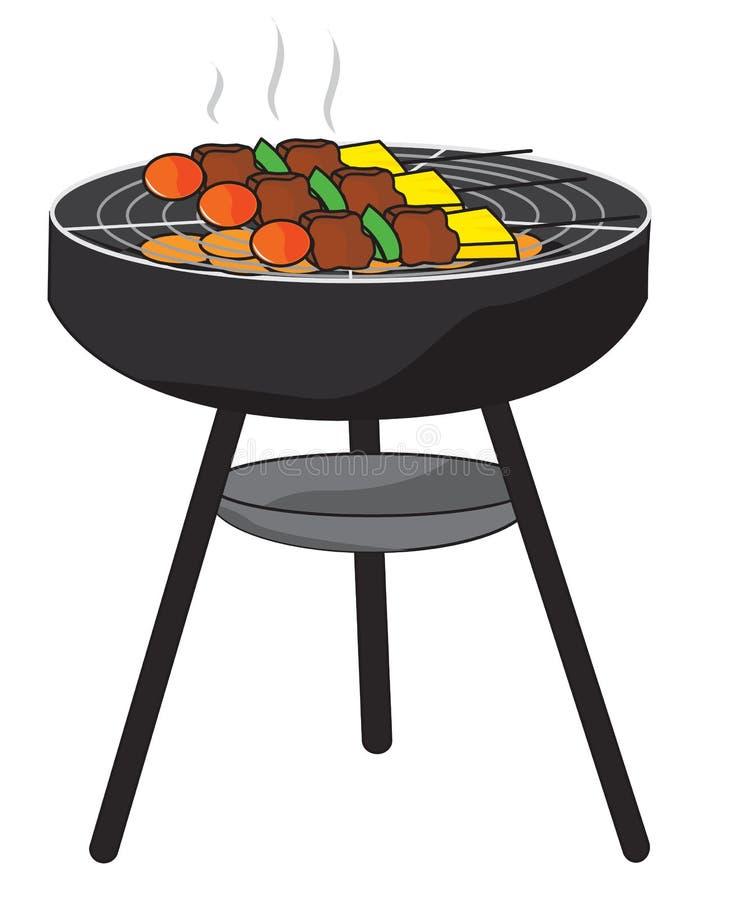 BBQ stock abbildung