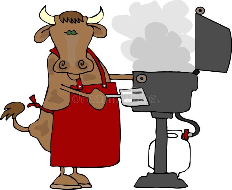 BBQ Beef royalty free illustration