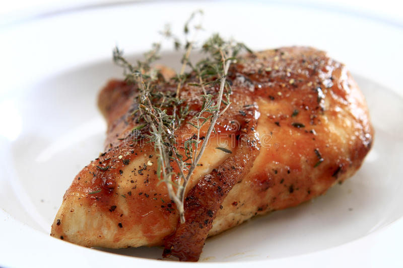 Download BBQ Chicken stock image. Image of meal, thyme, food, chicken - 24279683