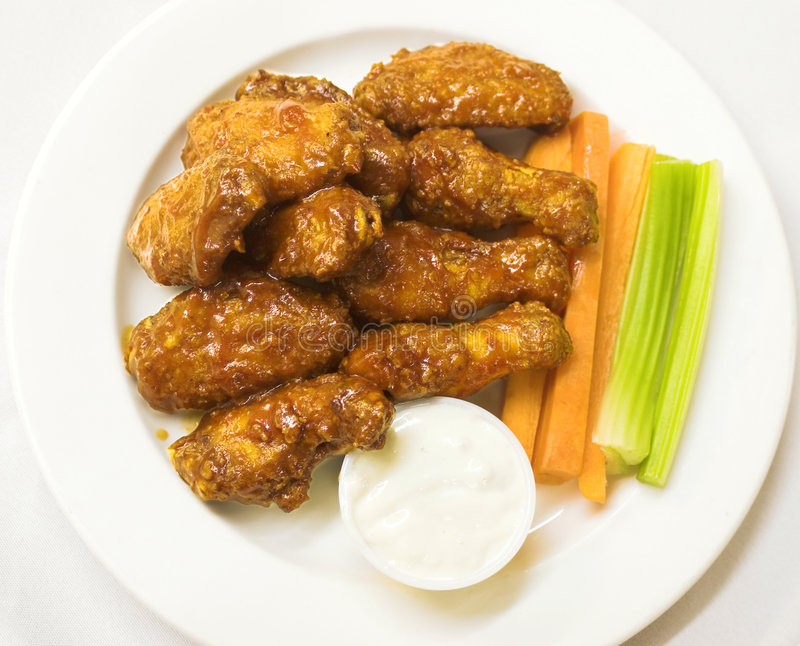 Download BBQ Chicken Wings stock image. Image of lunch, meat, dinner - 809361
