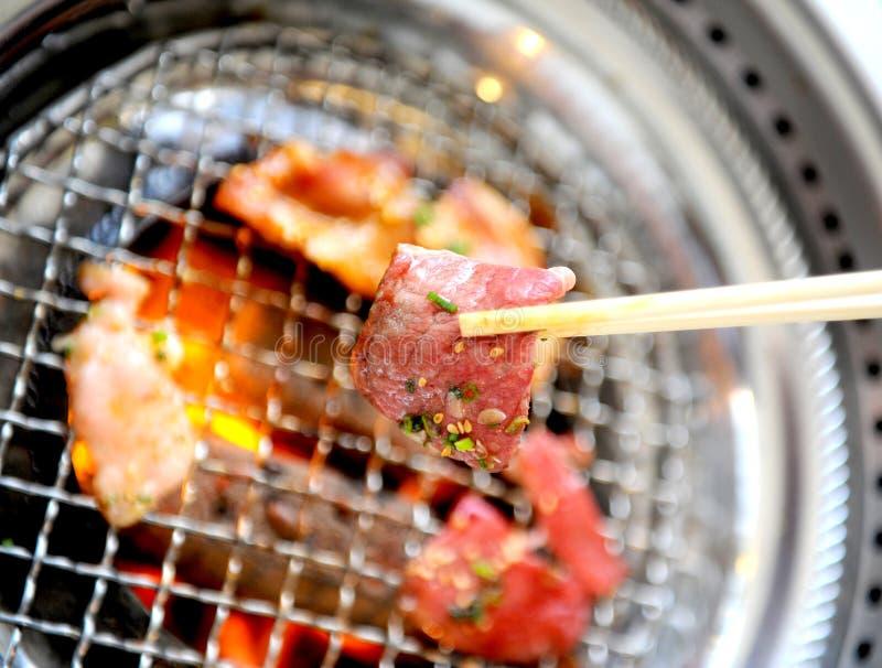 BBQ coréen photographie stock libre de droits