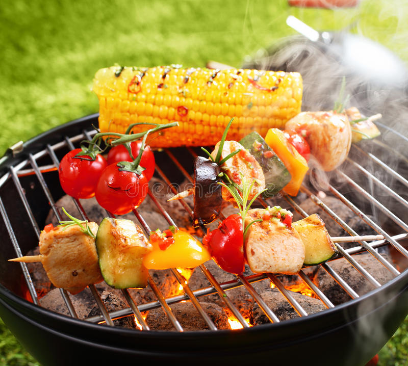 BBQ do vegetariano imagem de stock royalty free