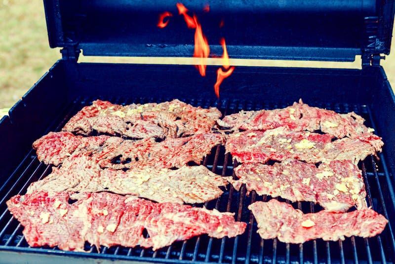 BBQ do verão foto de stock royalty free