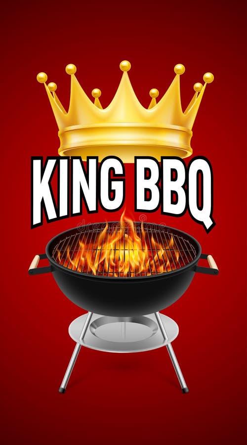 BBQ grill royalty ilustracja