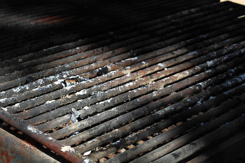 BBQ Grill Grid stock photo