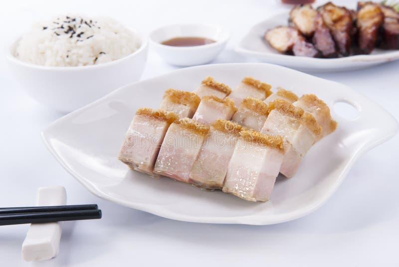 BBQ grillat griskött arkivbilder