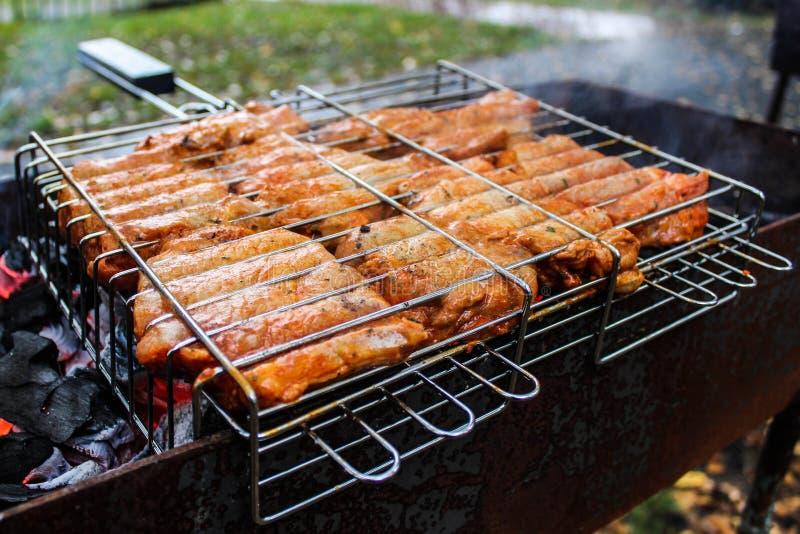 bbq kurczaka grill obrazy stock