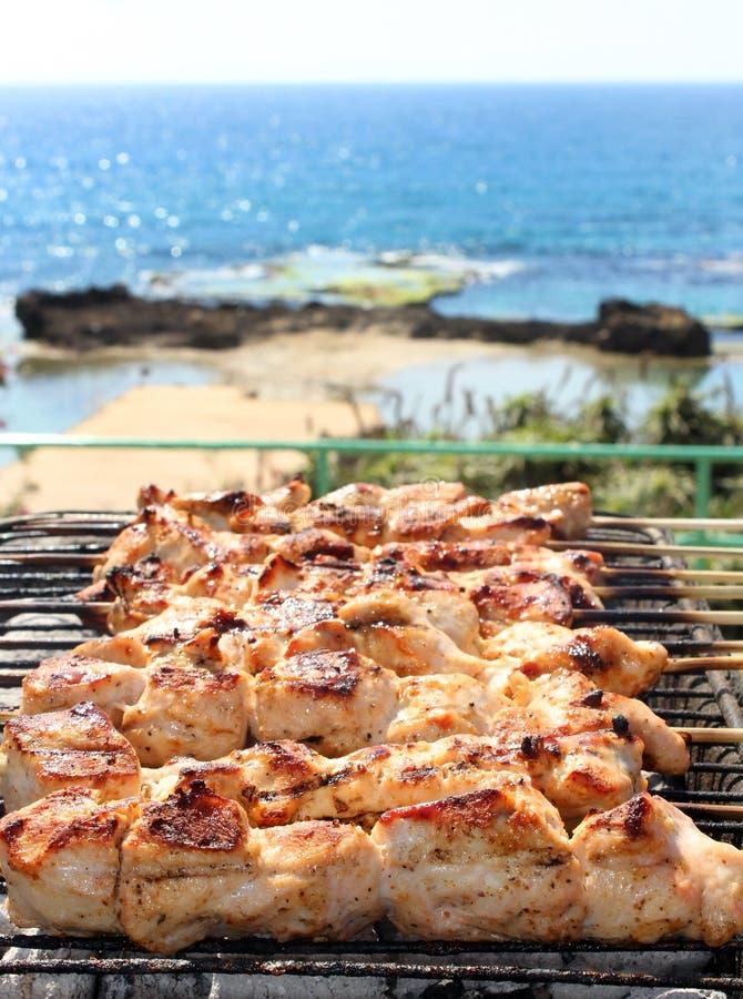 Free BBQ On The Beach Stock Image - 26117981