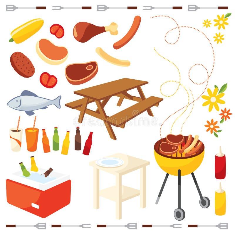 BBQ pictogram