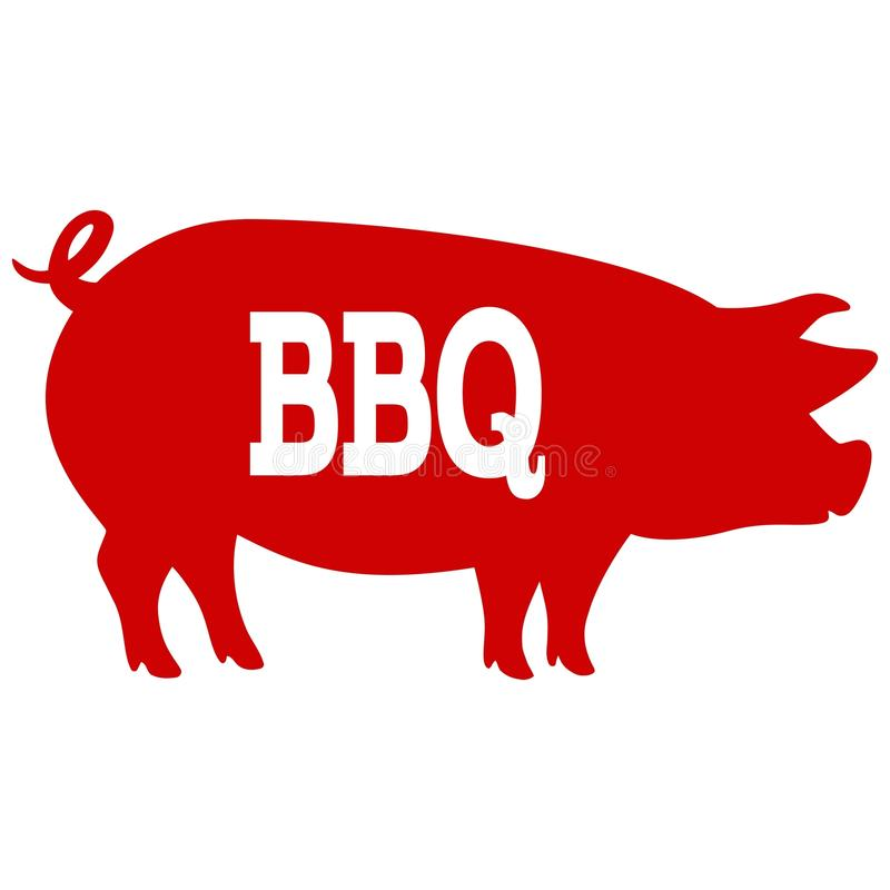 bbq pig stock vector illustration of boar  meat  farm clip art bbq party clip art bbq food
