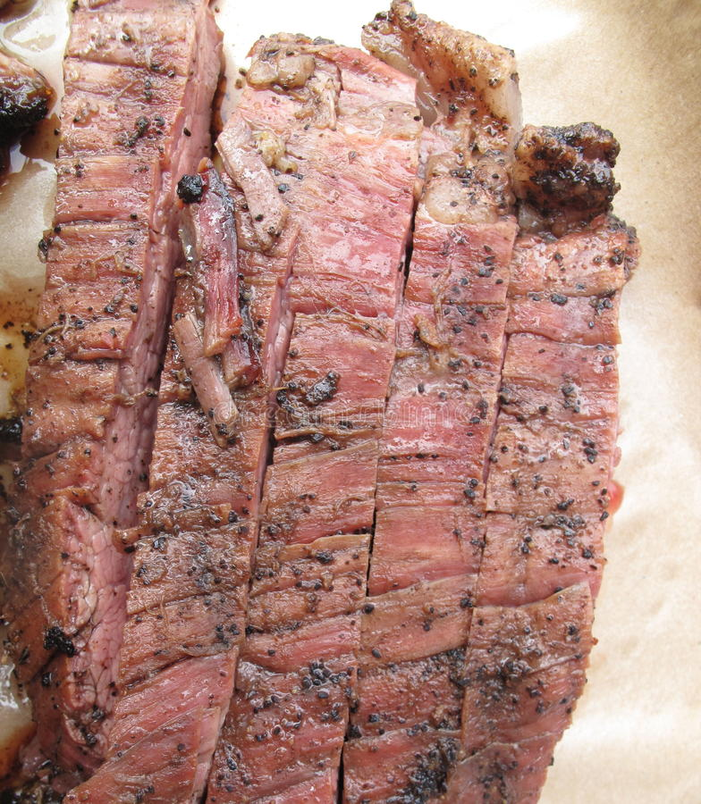 Bbq-Steak royaltyfri fotografi