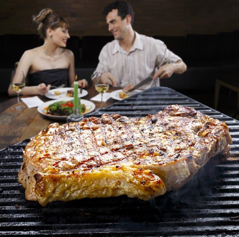 BBQ stek zdjęcie royalty free