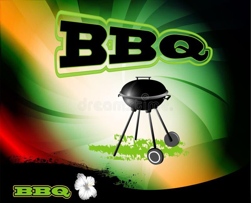 BBQ, tło ilustracja wektor