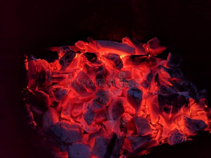 BBQ węgle fotografia stock