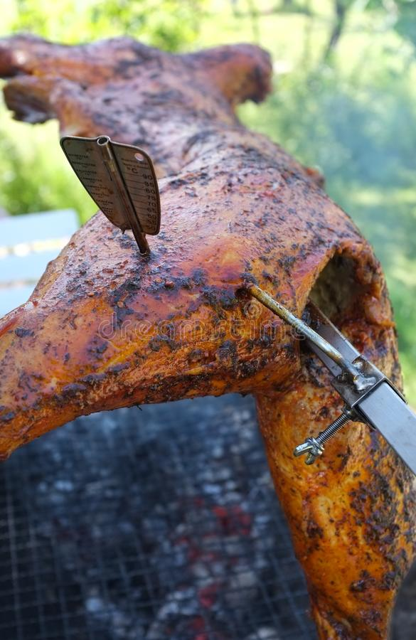 Download BBQ Whole Lamb Royalty Free Stock Photography - Image: 20401127