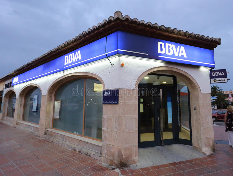 Download BBVA editorial stock image. Image of spain, banking, spanish - 25506884