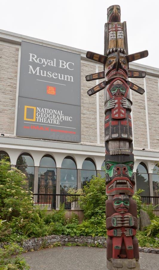 BC加拿大博物馆皇家维多利亚 免版税库存图片